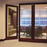 privacy glass for conference room doors