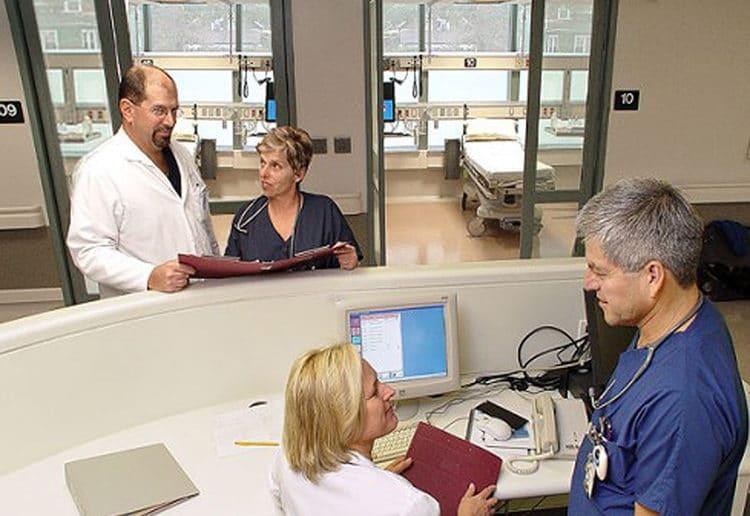 nurse station privacy glass