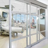 privacy glass for icu