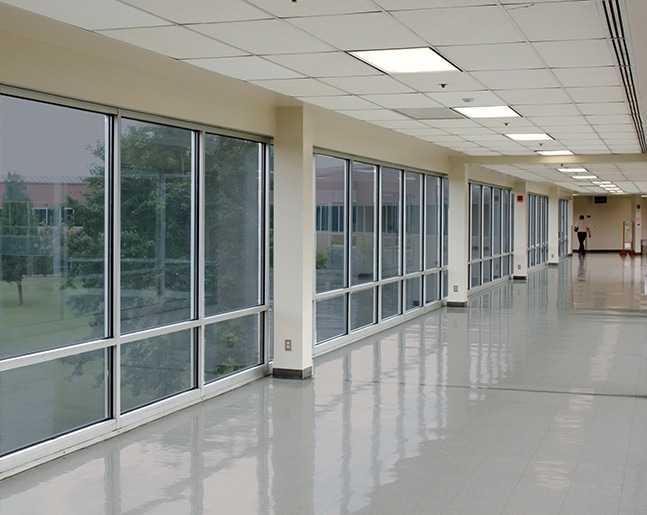 privacy glass for schools