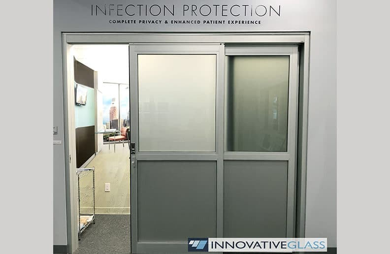 privacy glass for healthcare