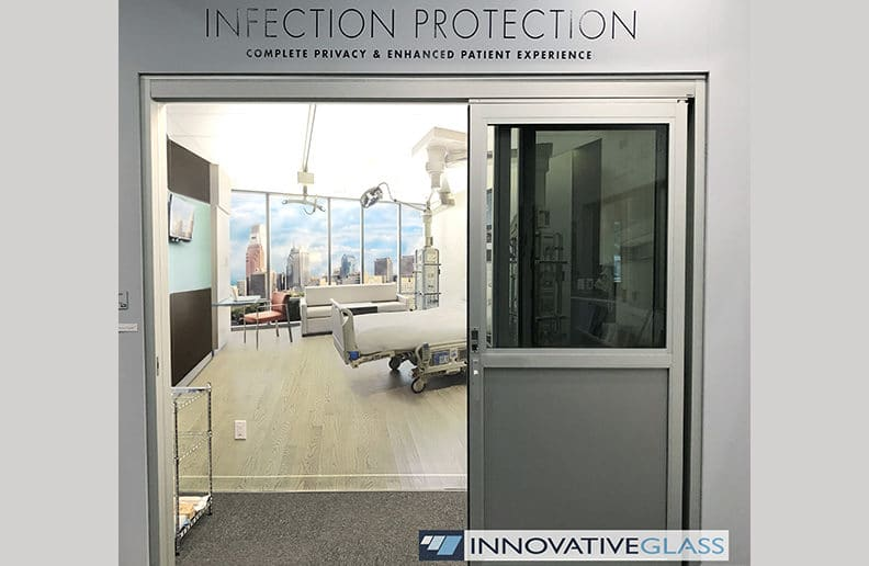 long island healthcare privacy glass