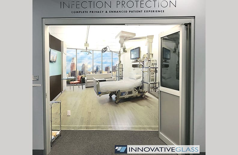 healthcare privacy glass