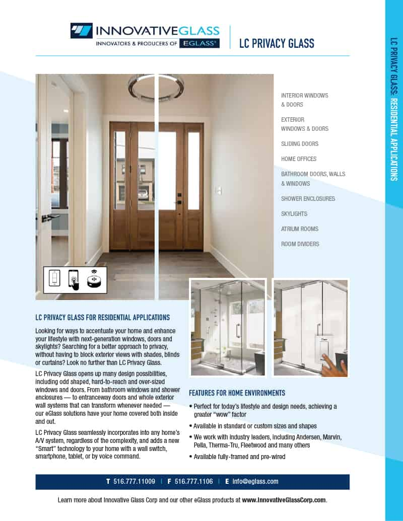 long island LC privacy glass