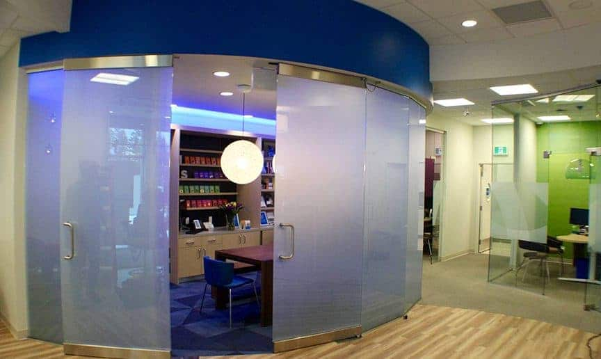 long island conference room privacy glass